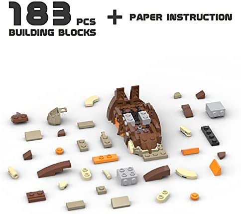 SW Bantha Animal Building Bricks Lego Set 4
