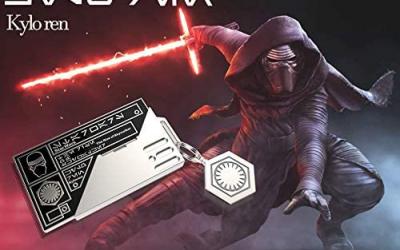 New Galaxy's Edge Kylo Ren Keychain Bescar ID Card available!