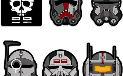 New The Bad Batch Helmet Complete Vinyl Decal Sticker Set available!