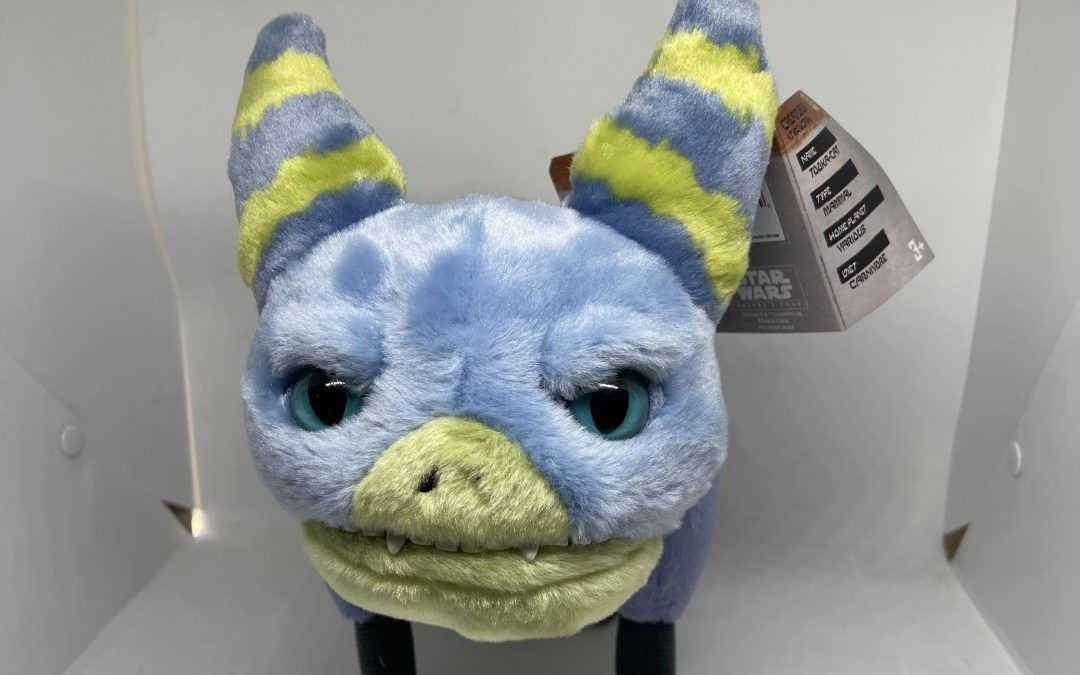 New Galaxy's Edge Tooka Cat Talking Plush Toy available now!