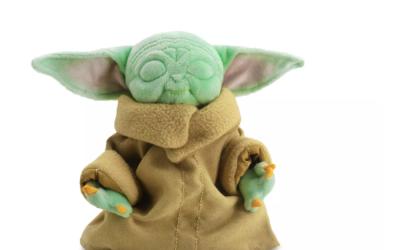 New The Mandalorian The Child (Grogu) in Zen Pose Mini Bean Plush Toy available!