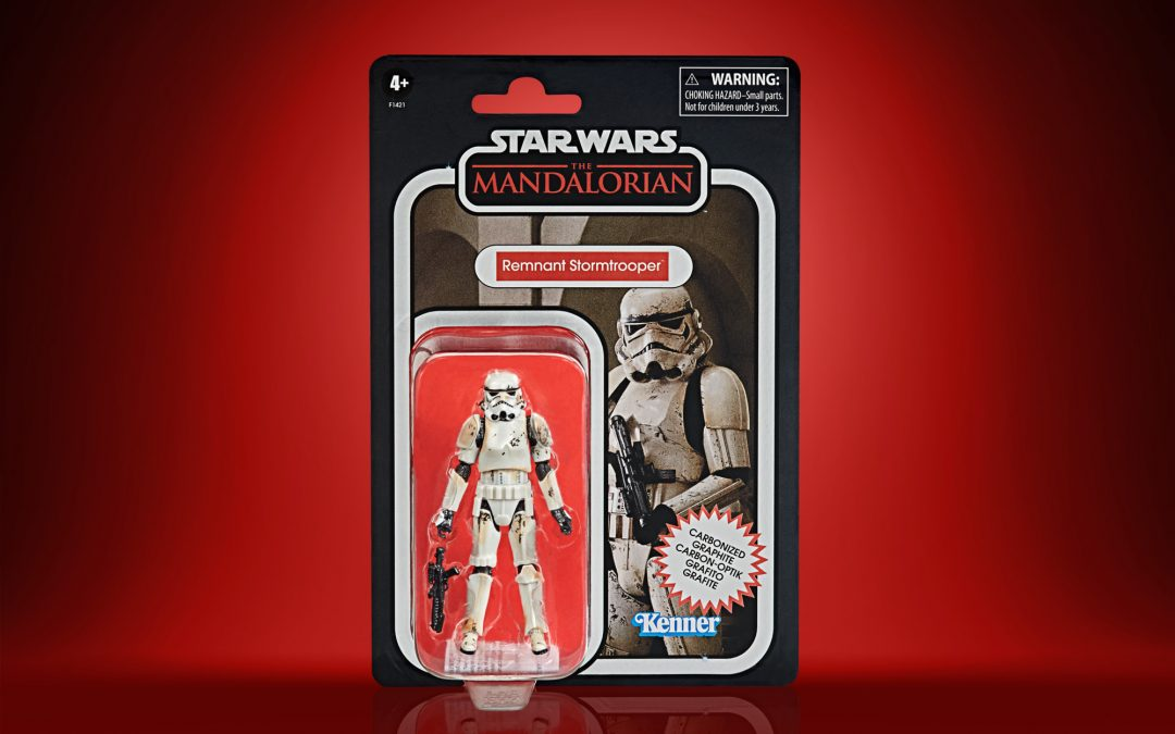 New The Mandalorian Remnant Stormtrooper Vintage Figure available now!