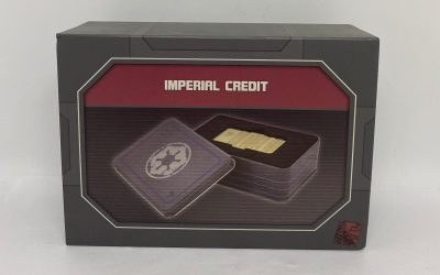 New Star Wars Galaxy's Edge Gold Imperial Credit available!