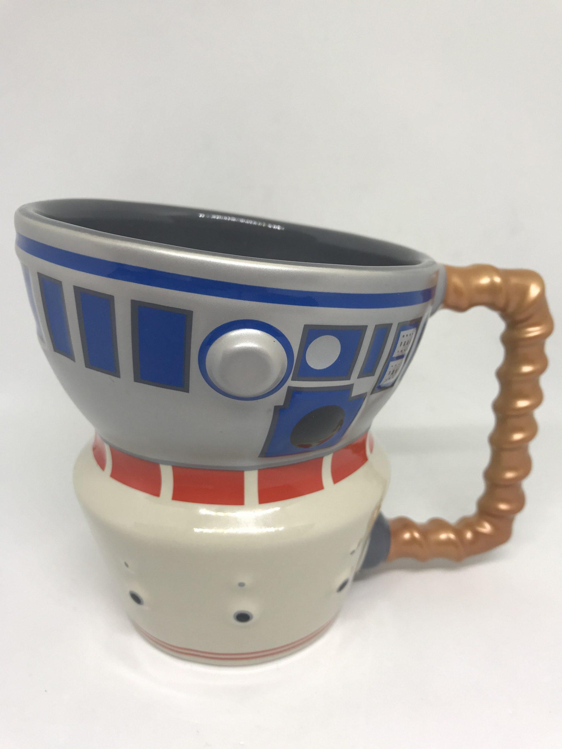 SWGE Droid Depot R2-D2 and R5-D4 Coffee Mug 2