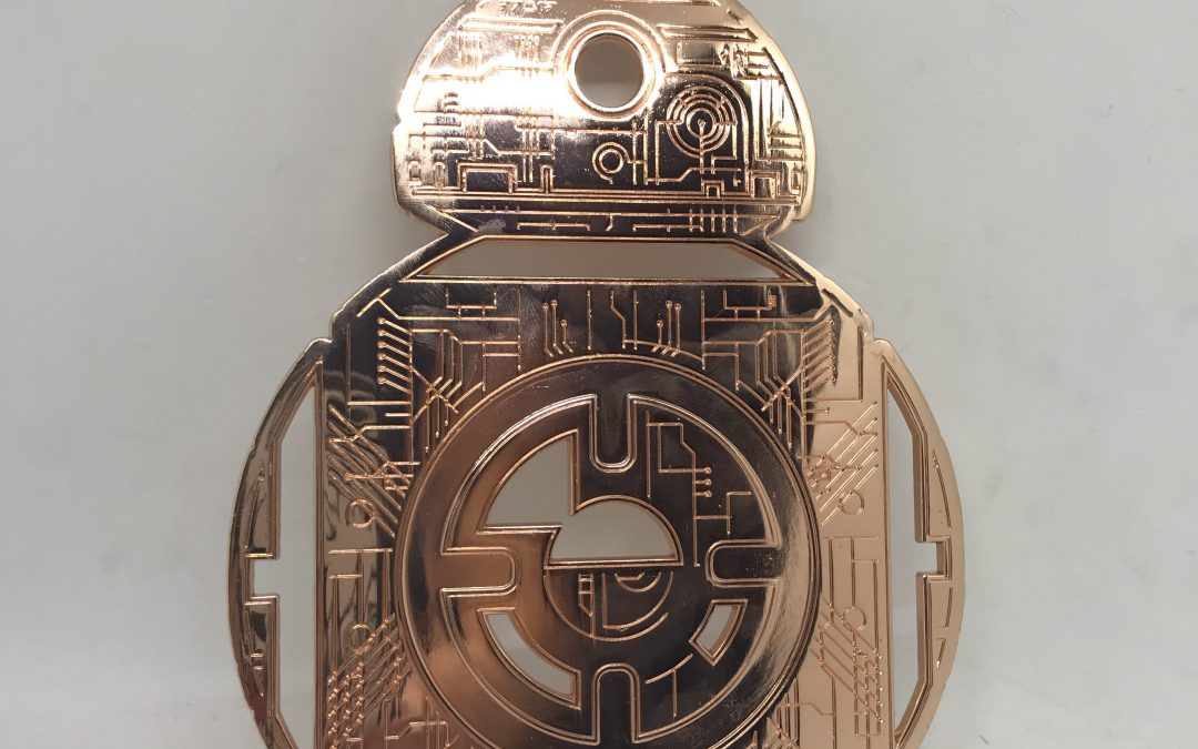 New Galaxy's Edge BB-8 Droid Depot Metal Trivet available now!