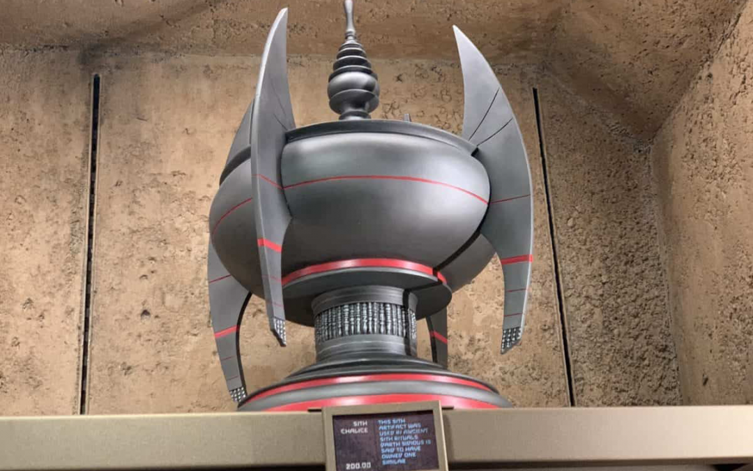 New Star Wars Galaxy's Edge Sith Chalice available now!