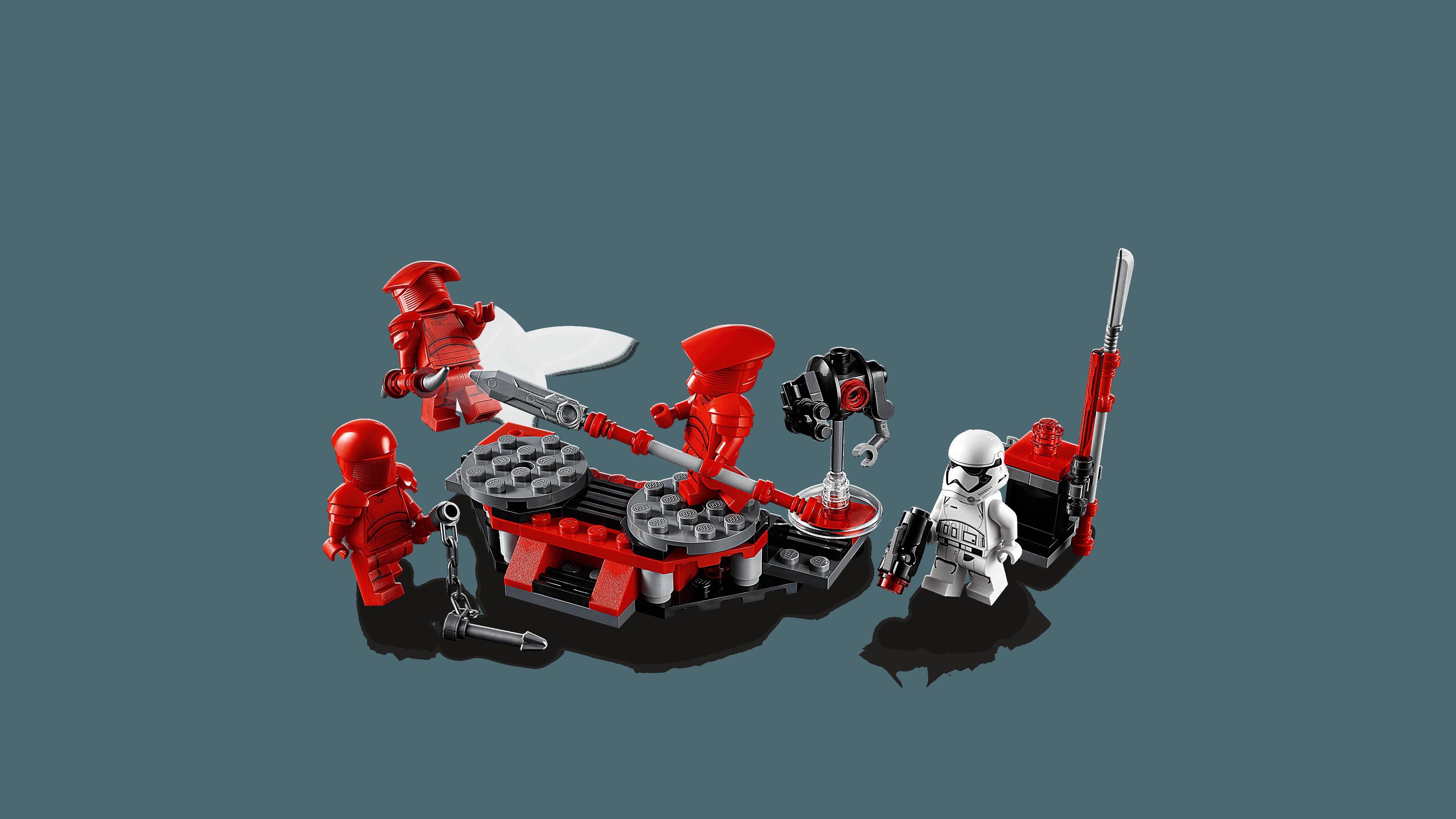 TLJ Elite Praetorian Guard Lego Battle Pack Set 3