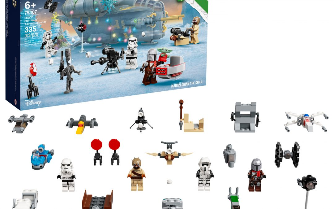 New Star Wars 2021 Advent Calendar Lego Set available now!