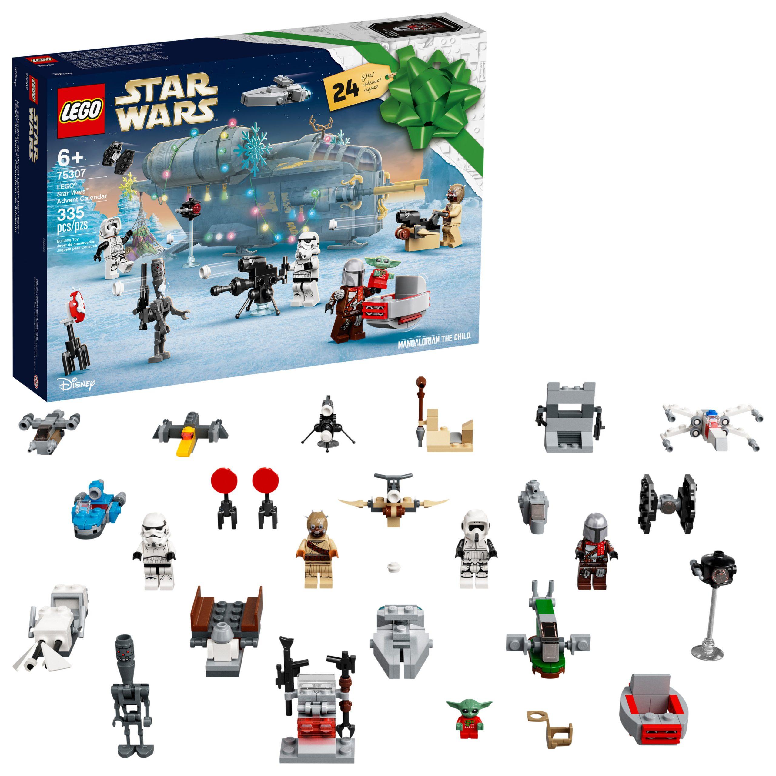 SW 2021 Advent Calendar Lego Set 1