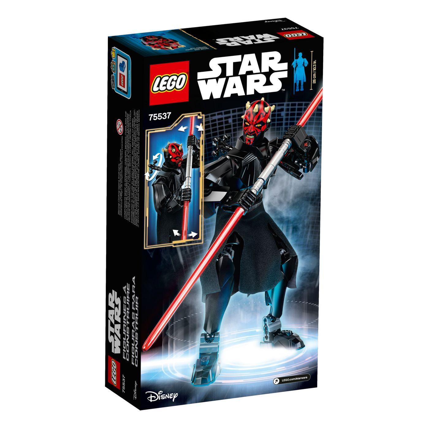 SW Darth Maul Buildable Figure Lego set 2