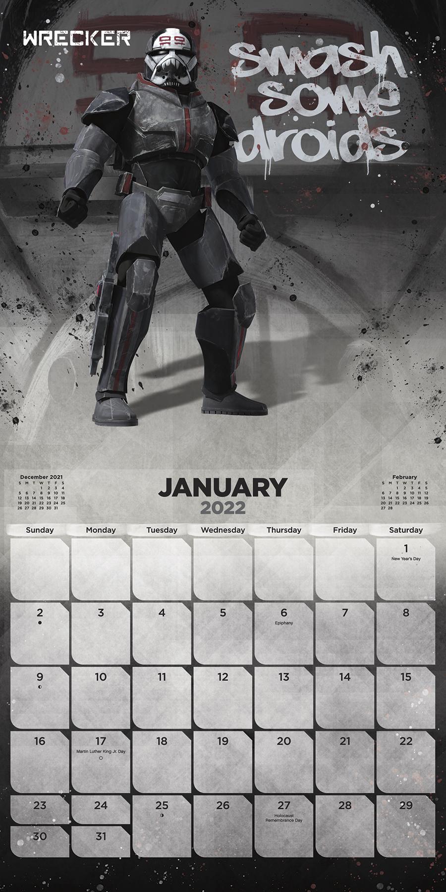 SWTBB 2022 Wall Calendar 2