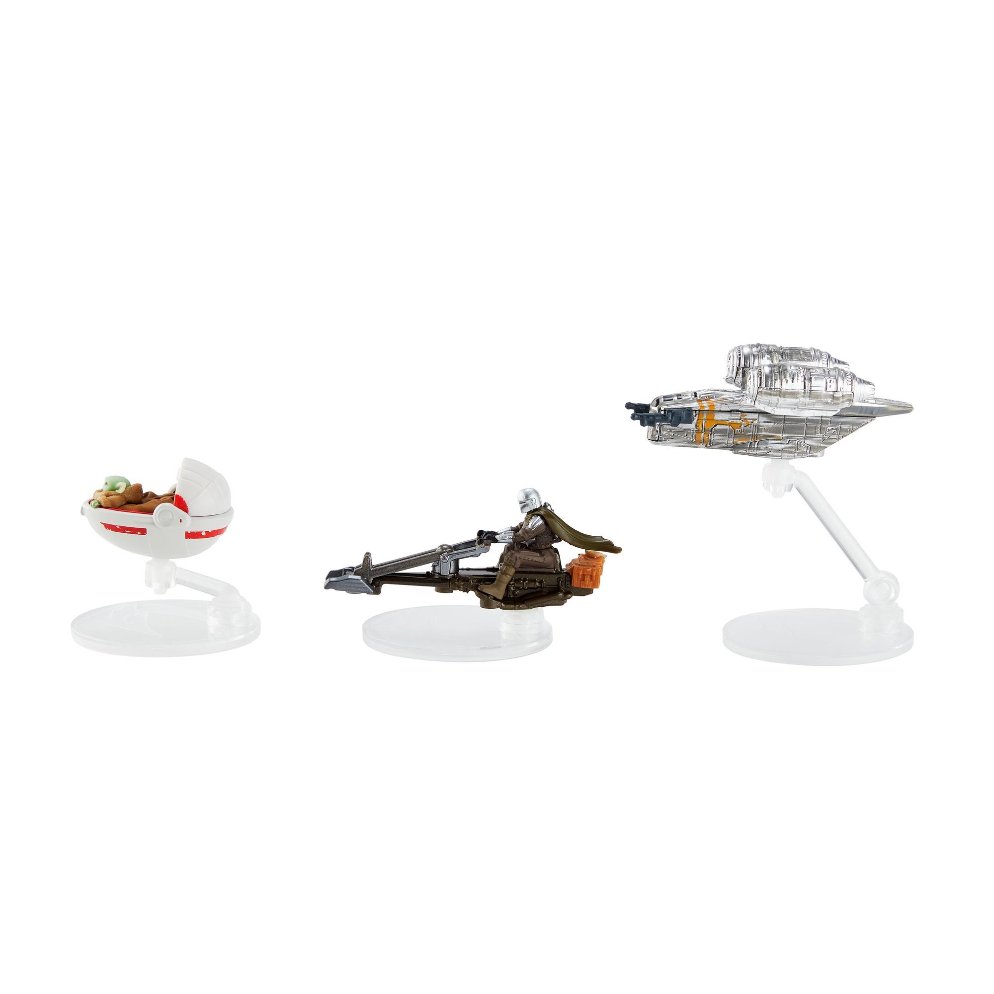 TM Hot Wheels Die-Cast Vehicle Starships 3-Pack 2