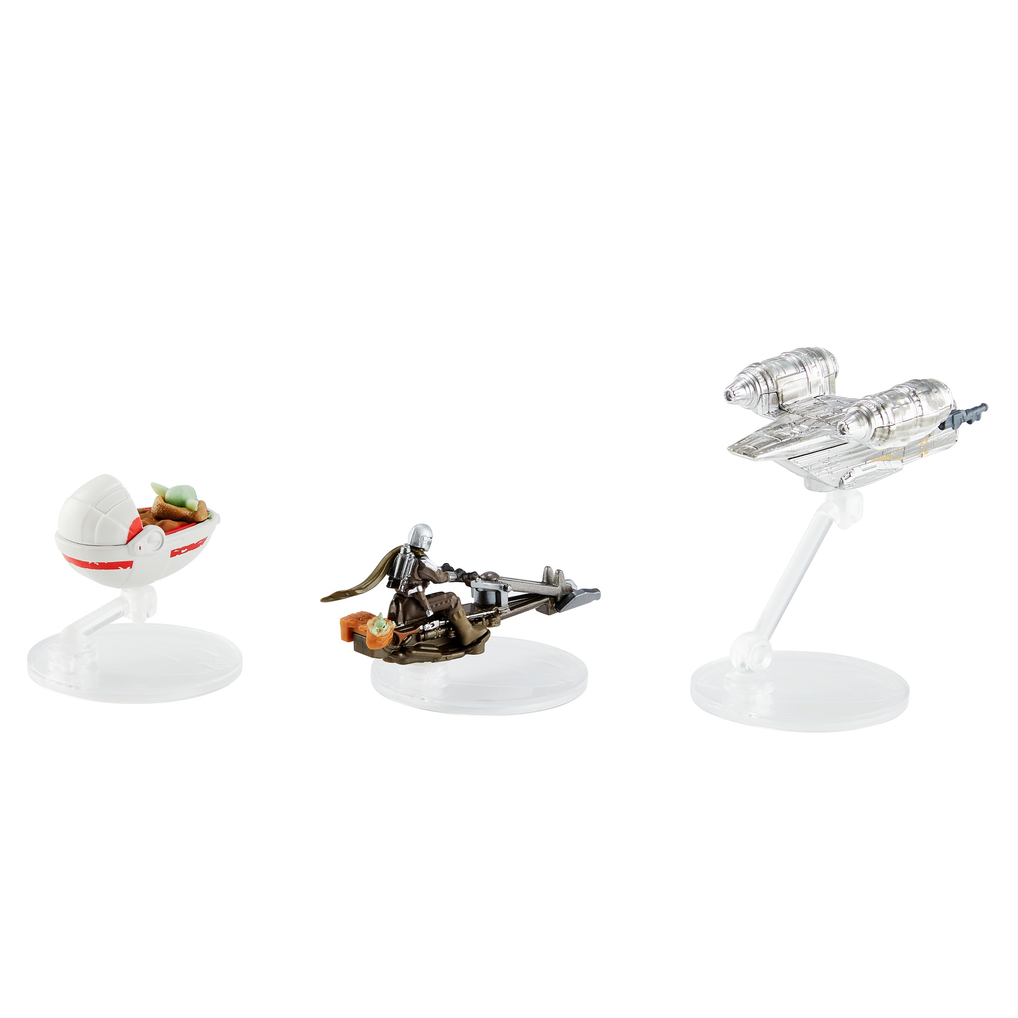 TM Hot Wheels Die-Cast Vehicle Starships 3-Pack 3
