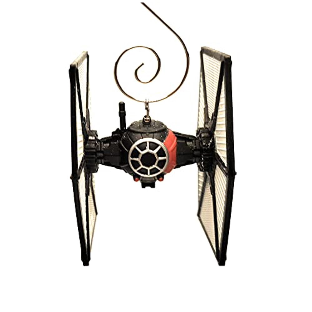 SW First Order Special Forces Tie Fighter Diecast Christmas Ornament 1