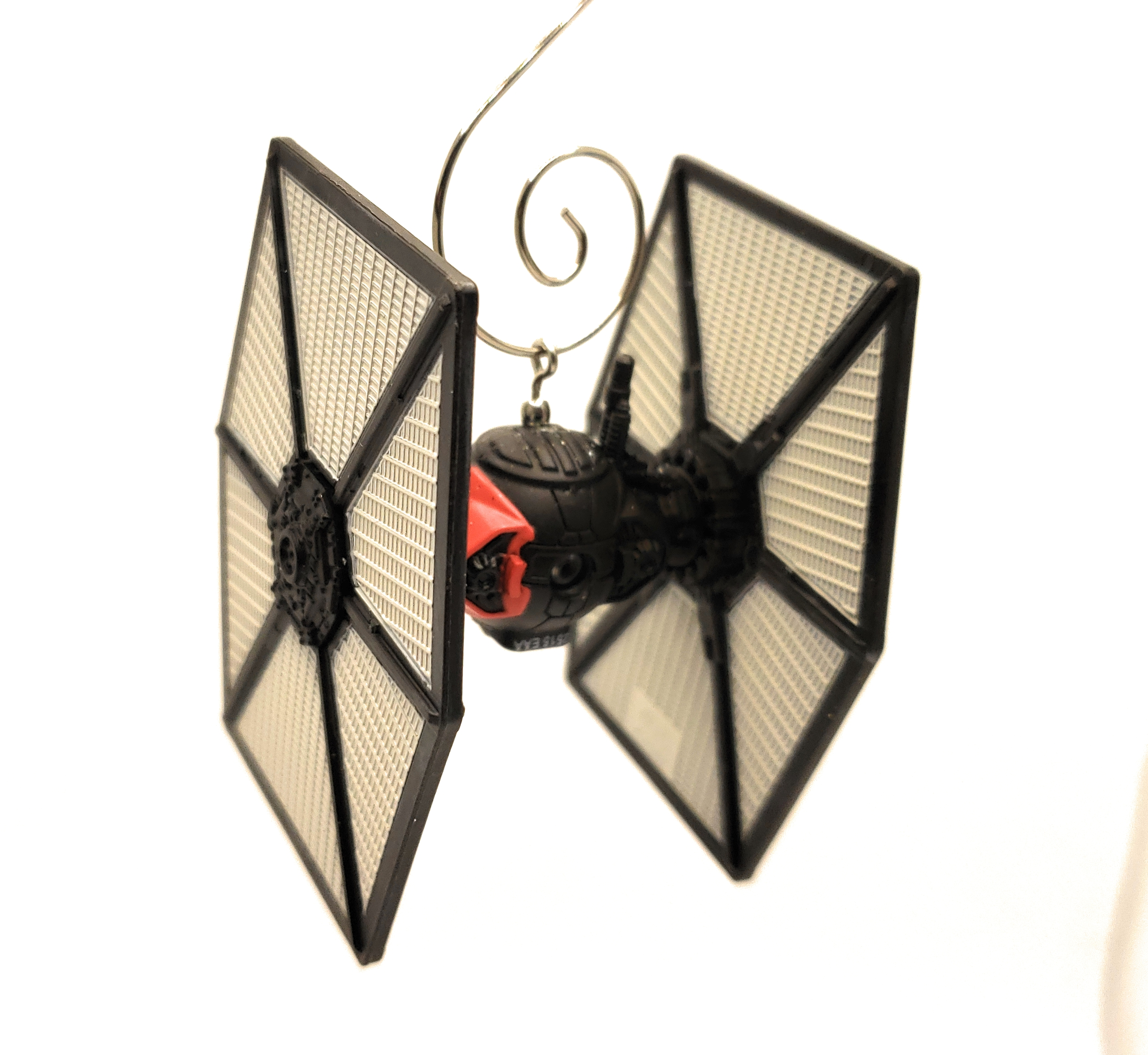 SW First Order Special Forces Tie Fighter Diecast Christmas Ornament 2