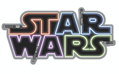 New Galaxy's Edge Lightsaber Logo Her Universe Limited Release Pin available!