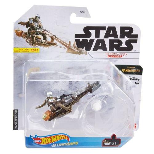 New The Mandalorian Mando's (Din Djarin's) Speeder Hot Wheels Starship Toy available now!