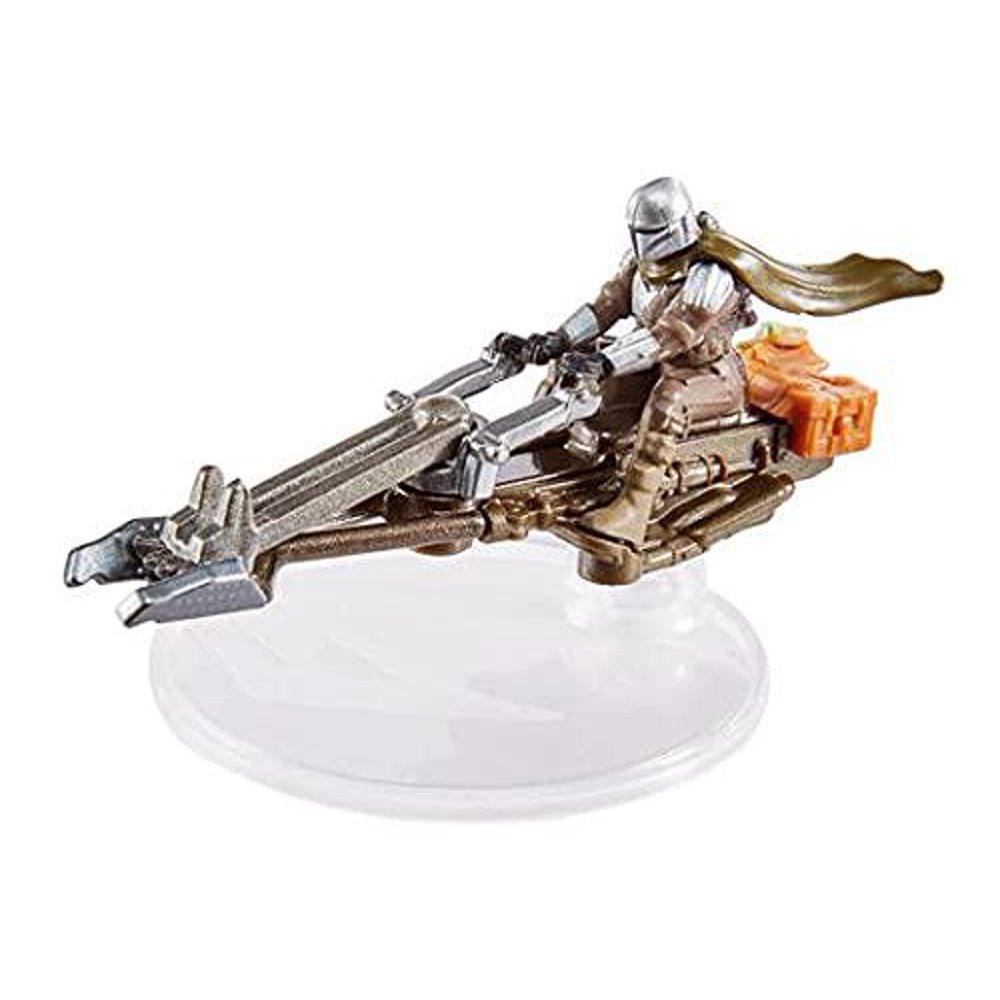 TM Mando's (Din Djarin's) Speeder Hot Wheels Starship Toy 2