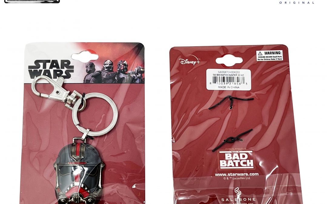 New The Bad Batch Hunter's Helmet Metal Keychain available now!