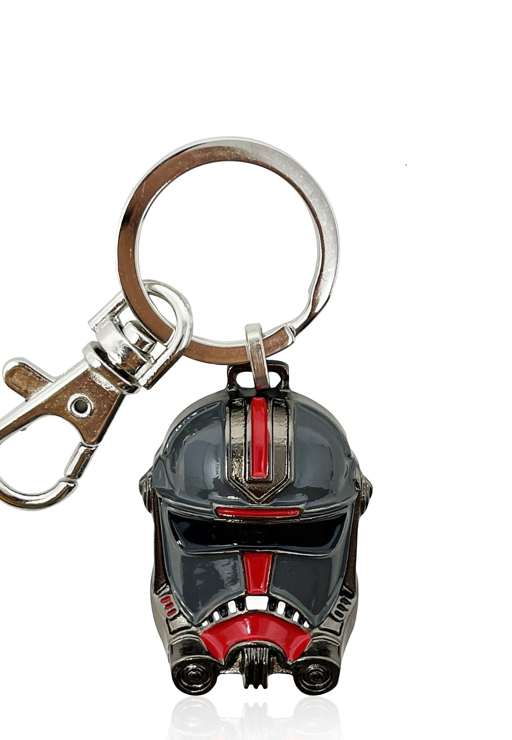 SWTBB Hunter's Helmet Metal Keychain 2