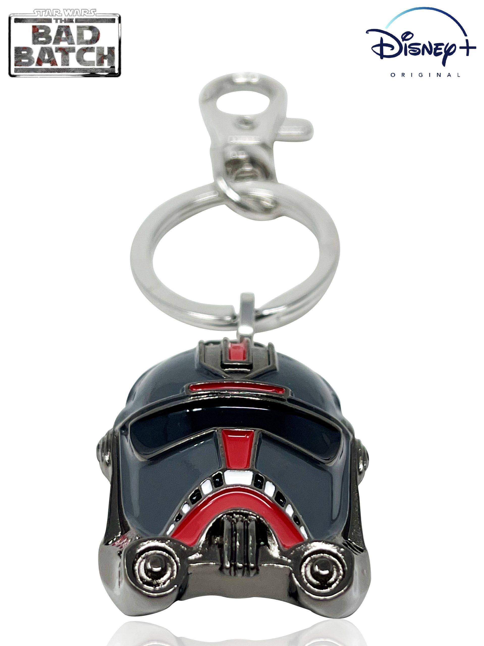 SWTBB Hunter's Helmet Metal Keychain 3