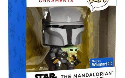 New The Mandalorian Mando (Din Djarin) with The Child (Grogu) Funko POP! Ornament available!