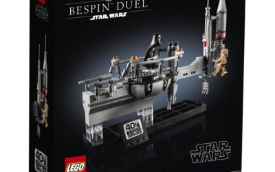 New Star Wars Bespin Duel Interlocking Block Building Lego Set available now!