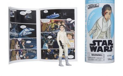New Galaxy of Adventures Princess Leia Figure and Mini Comic Set available now!