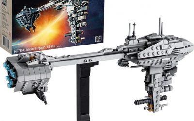 New Star Wars Nebulon-B Frigate Building Kit Lego set available now!