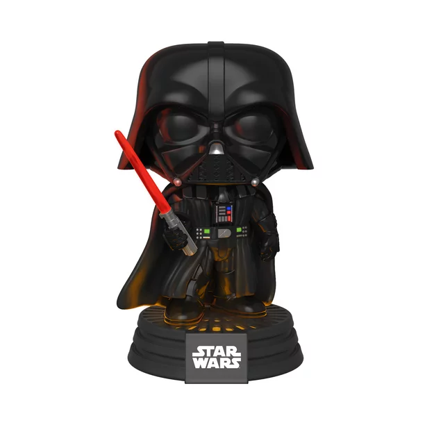 SW FP Darth Vader Electronic Bobble Head Toy 2