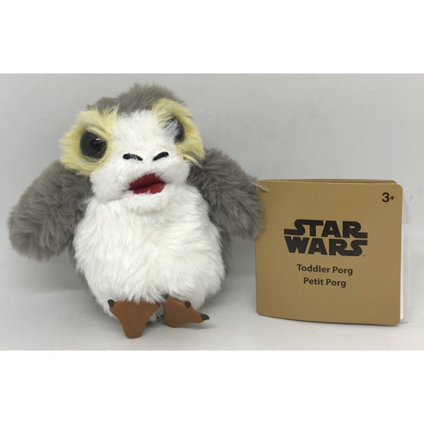 New Galaxy's Edge Toddler Porg Talking Mini Magnetic Shoulder Plush Toy available!