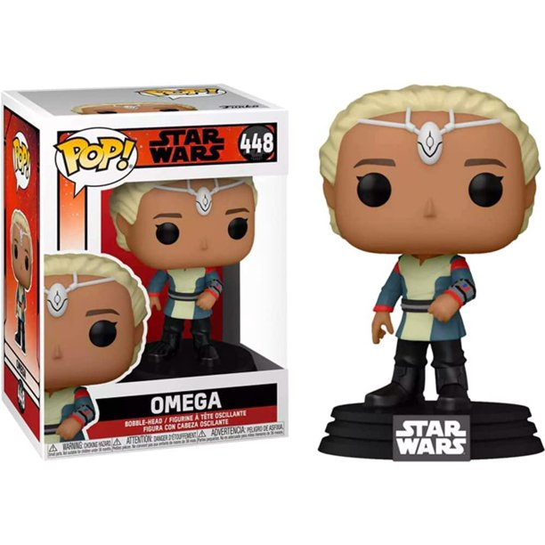 New The Bad Batch Omega Funko Pop! Bobble Head Toy available!