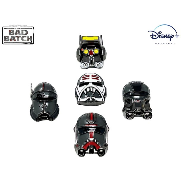 SWTBB 3-Dimensional Helmet Collectors 5 Pin Set 2