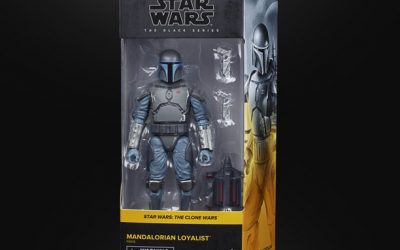 New Star Wars The Clone Wars Mandalorian Loyalist Black Series Figure available!