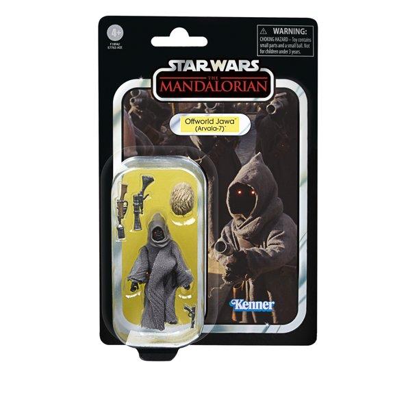 New The Mandalorian Offworld Jawa (Arvala-7) Vintage Figure available now!