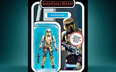 New The Mandalorian Imperial Shoretrooper Carbonized Vintage Figure available now!
