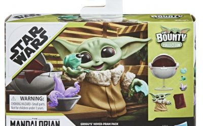 New The Mandalorian The Bounty Collection Grogu's Hover-Pram Figure Pack available!