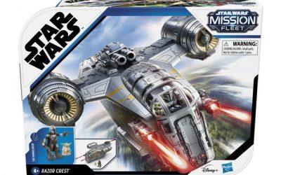 New The Mandalorian Mission Fleet Razor Crest Vehicle Toy available now!