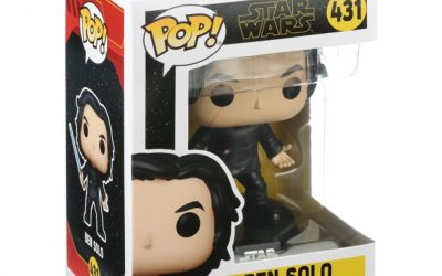 New Rise of Skywalker Ben Solo (with Lightsaber) Funko Pop! Bobble Head Toy available!