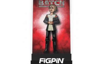 New Star Wars The Bad Batch Omega FiGPiN Pin available now!