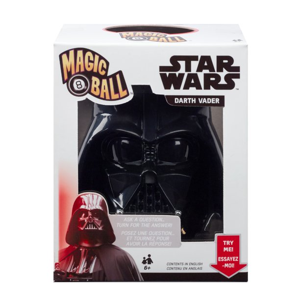 New Star Wars Darth Vader Fortune-Telling Magic 8 Ball available now!